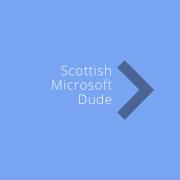 Scottish Microsoft Dude